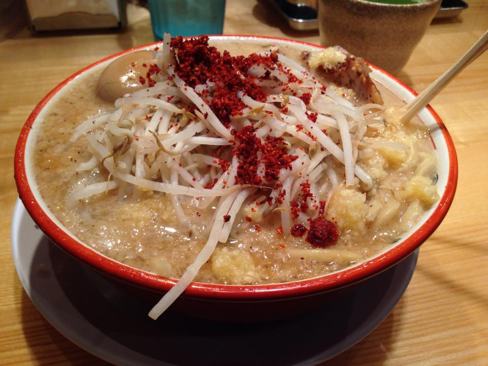 Ramen from Tsujita Annex Los Angeles
